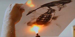 Художник научился создавать удивительные картины при помощи огня
