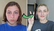 Девушка делала селфи каждый день в течение 8 лет, чтобы запечатлеть, как меняется внешность