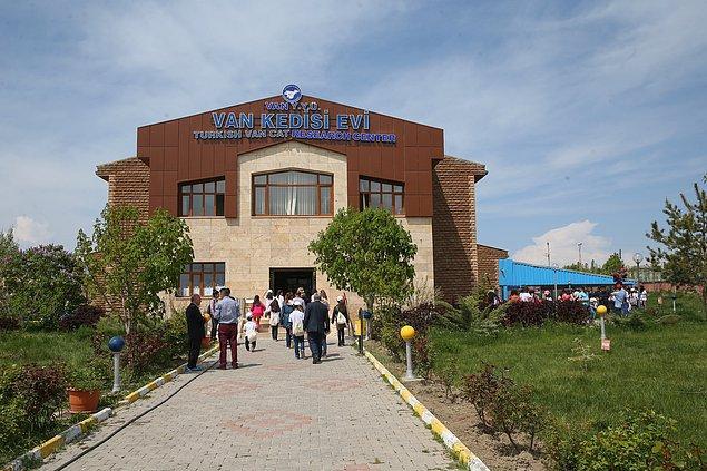 Van Kedisi Araştırma ve Uygulama Merkezi, 2018 yılı Türk Veteriner Hekimler Birliği'nin 'en iyi hizmet ödülü'ne layık görüldü.