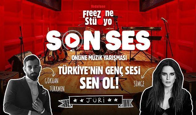 Vodafone Freezone Stüdyo'da gerçekleşen Son Ses Online Müzik Yarışması'nda kazananın belli olmasına çok az kaldı!
