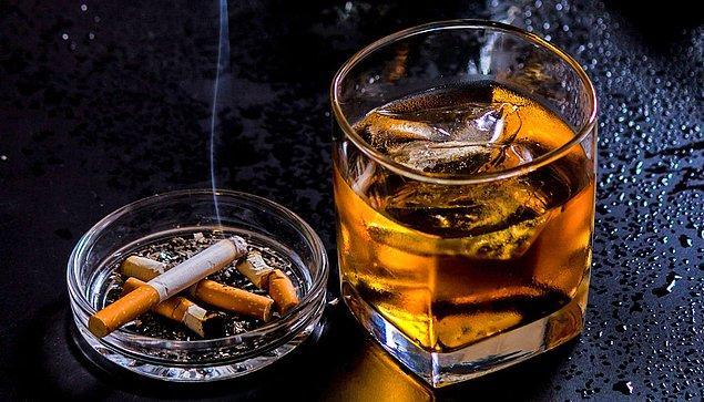 2. Alkol ve sigara kullanmak