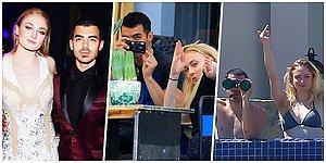 """20 фото, доказывающих, что звезда """"Игры престолов"""" Софи Тернер и музыкант Джо Джонас - идеальная пара!"""