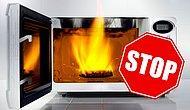 Никогда не ставьте в микроволновку эти 10 вещей, если не хотите устроить пожар или навредить здоровью!