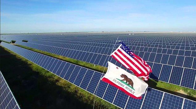 California yenilenebilir enerji için ciddi uygulamalarıyla gündeme geliyor.