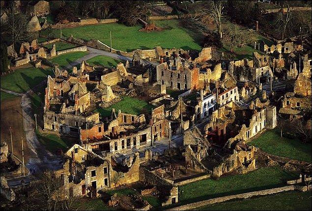 4. Oradour-sur-Glane, Fransa