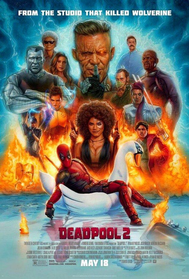 12. Deadpool 2'nin son posteri yayınlandı.