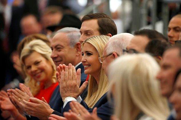 Resmi açılışı, ABD'nin İsrail Büyükelçisi David Friedman yaptı. Törene ABD Başkanı Trump'ın kızı Ivanka Trump ve damadı Jared Kushner de katıldı