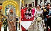 Королевская свадьба: Как выглядели наследники престола разных стран в день бракосочетания