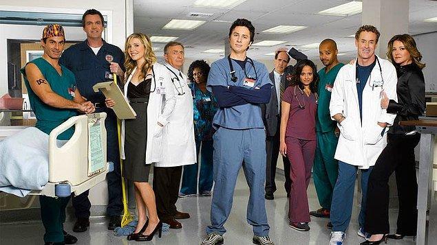 9. Scrubs - IMDb 8,4
