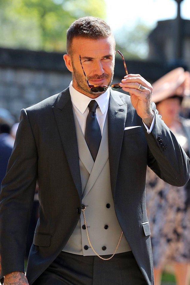 David Beckham karizması diye bir şey gerçekten var...
