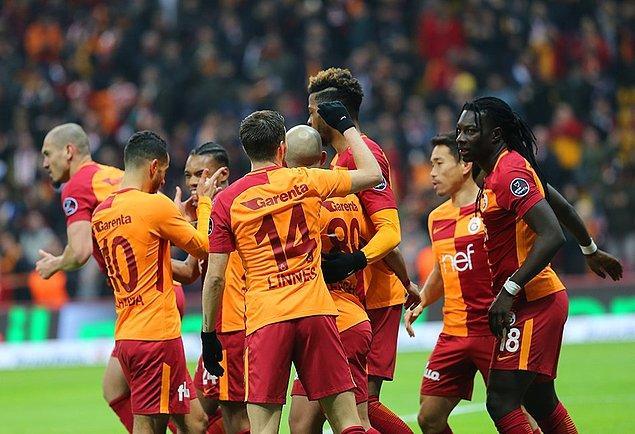 21. Hafta: Galatasaray 3-0 Antalyaspor