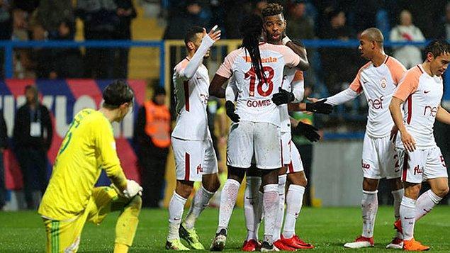 24. Hafta: Karabükspor 0-7 Galatasaray