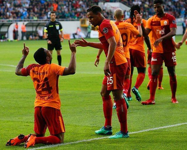32. Hafta: Akhisarspor 1-2 Galatasaray