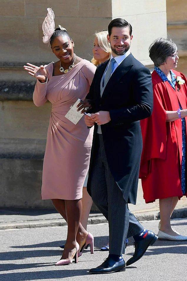 5. Serena Williams ve Alexis Ohanian
