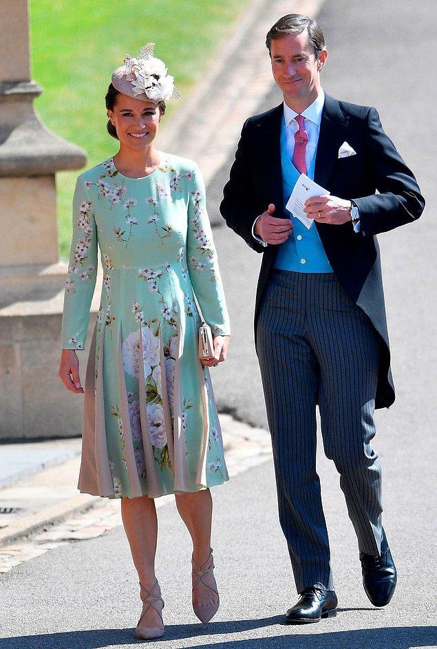 17. Pippa Middleton ve James Matthews