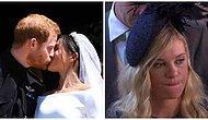Бывшая девушка принца Гарри сходила на его свадьбу, и выражение ее лица уже стало новым мемом!