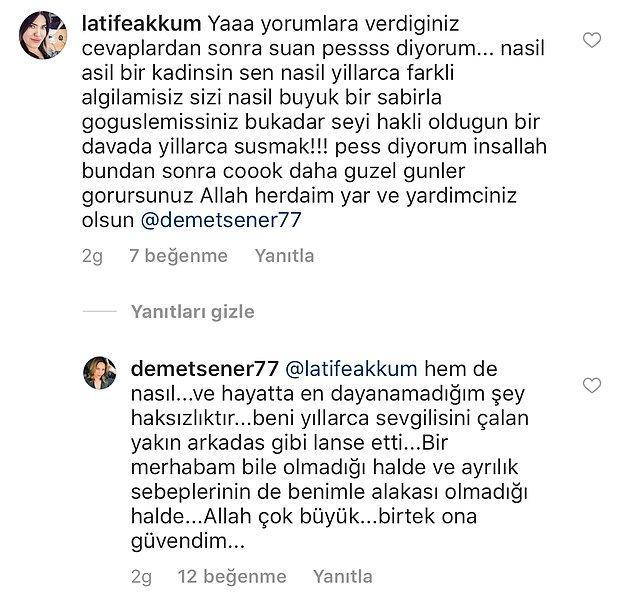 Demet Şener'in iddialarına göre, Demet Akalın ile İbrahim Kutluay'ın ilişkileri çoktan bitmişti onlar birlikteyken...