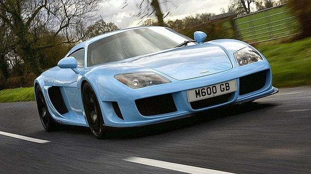 10. Noble M600 (362.1 kms)
