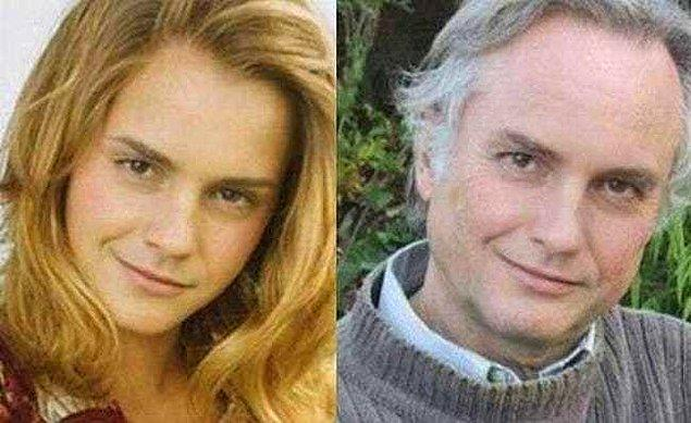 21. Emma Watson ve Dr. Richard Dawkins