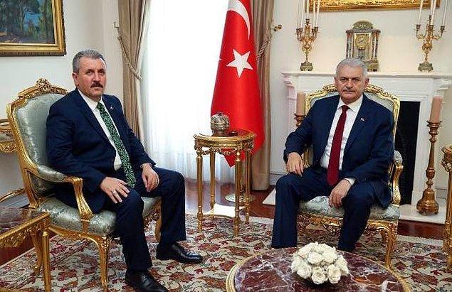 Başbakan Binali Yıldırım, İzmir 1'nci bölge birinci sıradan aday gösterildi. BBP lideri Mustafa Destici ise Ankara 2'nci bölge birinci sırada.