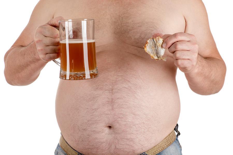 картинка толстого мужика с пивом прокисшем молоке