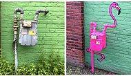 Sokakların Çirkin Görüntüsünü Yeteneğiyle Değiştiren Sanatçının 'Keşke Burada da Olsa!' Dedirten Çalışmaları