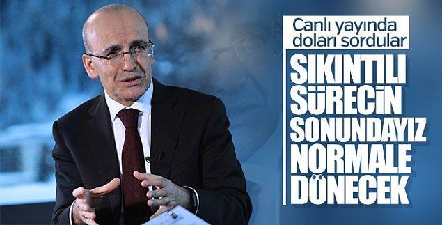 2. Ülkedeki ekonominin patronu diyebileceğimiz, anlı şanlı bir CV ile hükümette yer alan Mehmet Bey.