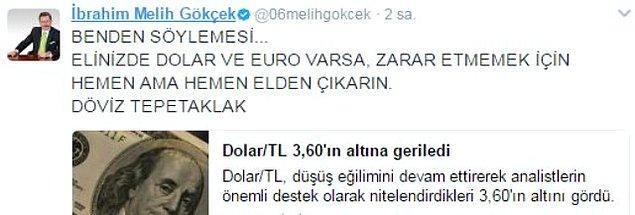 11. Germiyanoğlu Beyliği'nden aldığı Ankara'nın anahtarını istemeye istemeye selefine teslim eden Melih Başkansız bir içerik olur mu? OLMAZ!