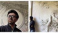Художник из России использует древнюю технику, превращая стены в произведения искусства, и результат превосходит любые ожидания