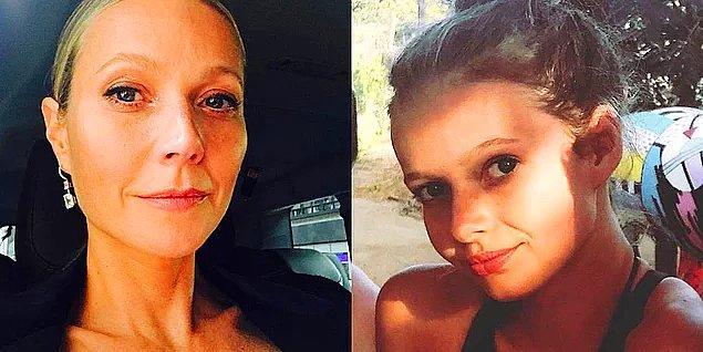 17. Gwyneth Paltrow ve kızı Apple Martin