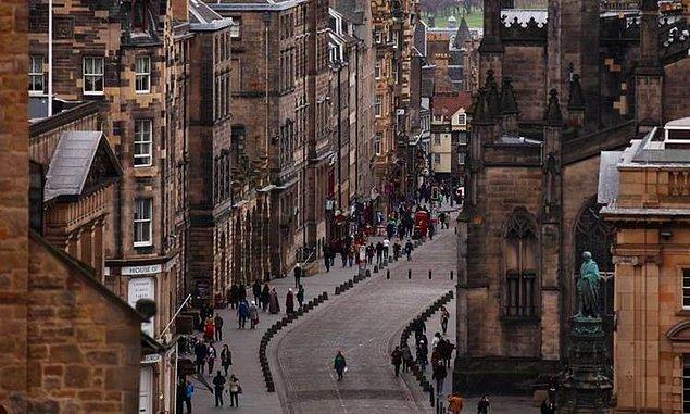 22. Edinburgh, Birleşik Krallık - 2.565 $