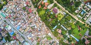 Фотопроект о том, как выглядит социальное неравенство с высоты птичьего полета