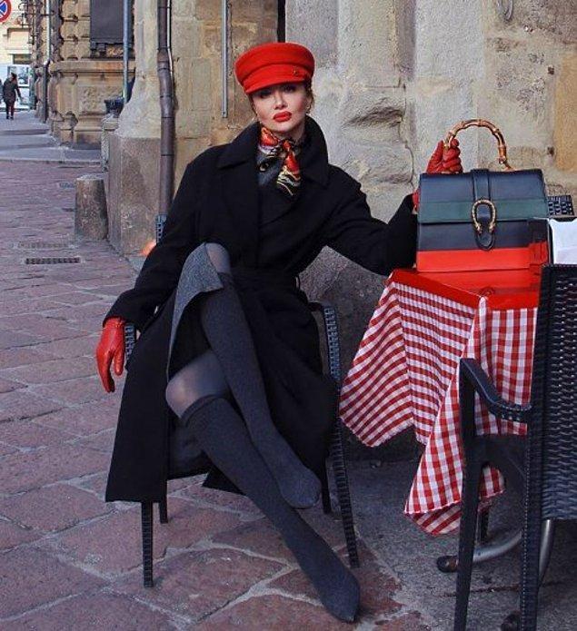 Sırp asıllı Zaklina Berrido Pisano bir moda blogger'ı...