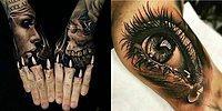 16 татуировок, которые выглядят слишком реально