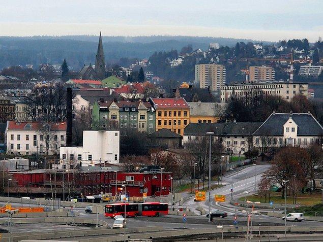 6. Oslo, Norveç — 3,664$