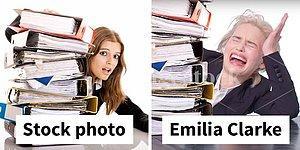 """Эмилия Кларк призналась, что ее """"истинное призвание"""" - это модель для стоковых фотографий!"""