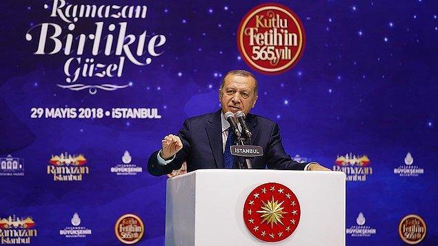 Özkan'ın sözü 'reklama gidiyoruz' diye kesilip, Erdoğan'a bağlanıldı
