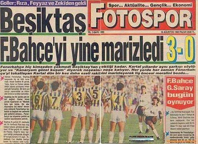 Futbol medyasında geçmişten günümüze hep kullanılır...