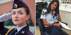 «Арестуйте меня, пожалуйста!»: горячие и красивые женщины-полицейские разных стран
