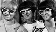 Подборка фото, которая наглядно демонстрирует эволюцию женских очков в истории моды