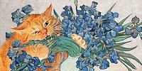 """""""Все позволено котэ..."""": 30 известных картин, где главной фигурой удачно вписался рыжий толстый кот"""