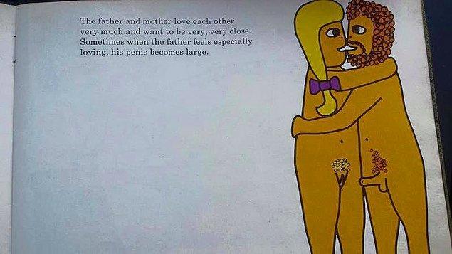 """3. """"Baba ve anne birbirlerini çok severler ve birbirlerine çok çok yakın olmak isterler."""""""