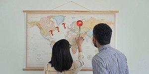 Тест: Сможете ли вы назвать дюжину стран на пустой карте мира?