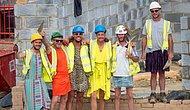 Хитрый ход: британским строителям запретили носить на работе шорты, поэтому они пришли в платьях
