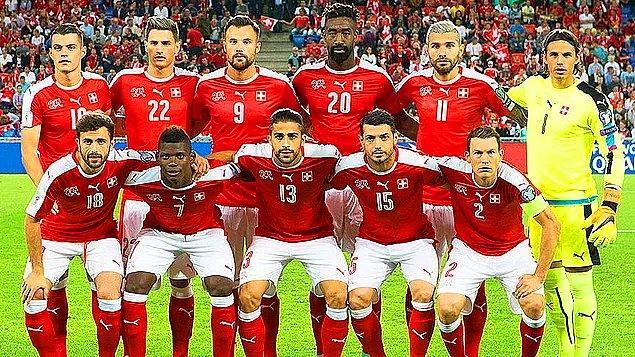 İsviçre A Milli Futbol Takımı 2018 Dünya Kupası Kadrosu