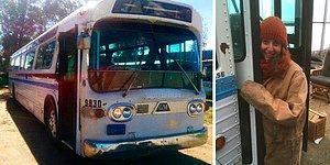 Девушка потратила 3 года, чтобы превратить старый автобус в мобильный дом, и теперь он выглядит лучше, чем большинство квартир