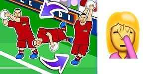 Повеселил так повеселил: иранский футболист стал мемом после эпичного сальто