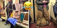 Угарные фото из подземки по всему миру, которые заставят вас пересесть на метро