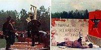 """Фото с парада в честь Дня Победы в 1975 году: 9 мая с имитацией расстрела и другими """"театральными"""" постановками?"""