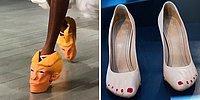 Развести костер и сжечь! Подборка безумных обувных экземпляров, вызывающих как минимум недоумение